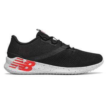 New Balance Cush+男款跑步鞋 轻盈缓震 柔软舒适, 黑色