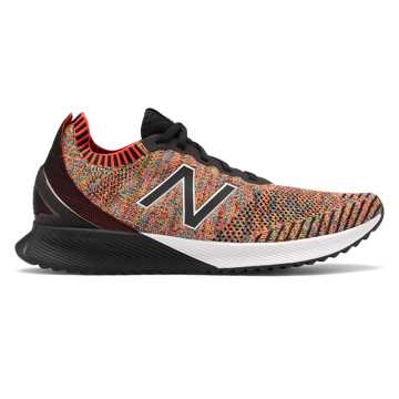 New Balance FuelCell Echo, Neo Flame with Sulphur Yellow & Vision Blue