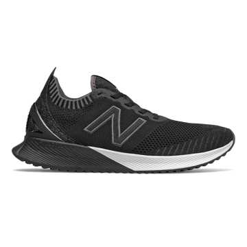 New Balance Men's FuelCell Echo, Black with Magnet & White