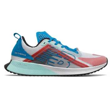 New Balance FuelCell Echolucent, White with Vision Blue