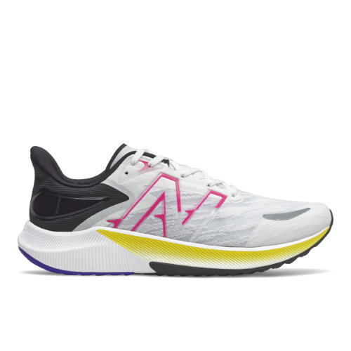 New Balance Hombre FuelCell Propel v3 - White/Pink, White/Pink
