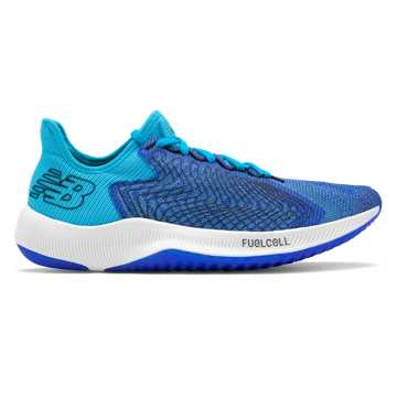 New Balance Men's FuelCell Rebel, UV Blue with Bayside