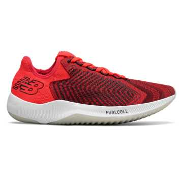 New Balance FuelCell Rebel, Energy Red with Black