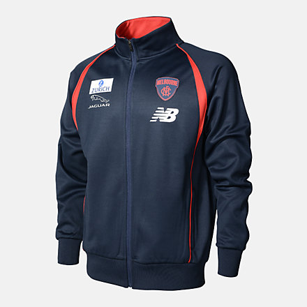 New Balance MFC TRAINING STAND UP COLLAR JACKET, MFMJ0210BL image number null
