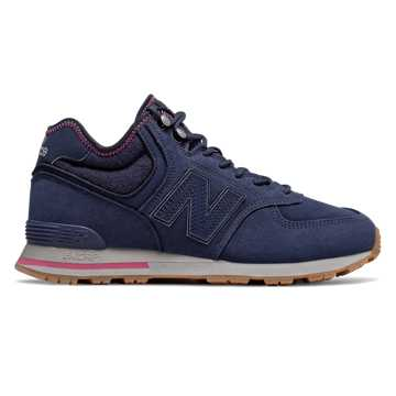 New Balance 574 Mid, Pigment with Dragon Fruit