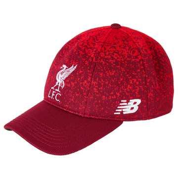 New Balance LFC Klopp Cap, Red with White