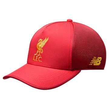 New Balance Liverpool FC Elite Cap, Team Red with Red Pepper