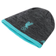 NB Liverpool FC Elite Knitted Beanie, Black with Phantom