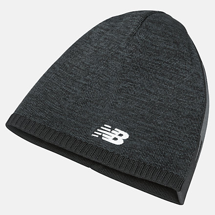 New Balance Team Customisable Beanie, MH934310BKW image number null