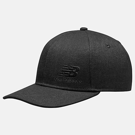 NB Team Stacked Snapback, MH934317BK image number null
