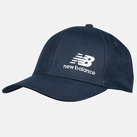 New Balance Team Stacked Snapback, MH934317ECW image number null