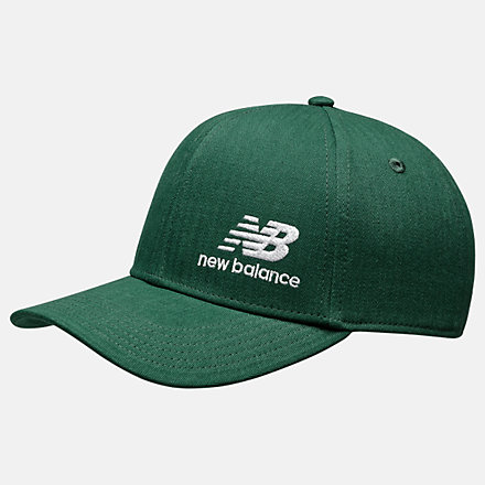 New Balance NBF - Team Stacked Snapback, MH934317NGW image number null