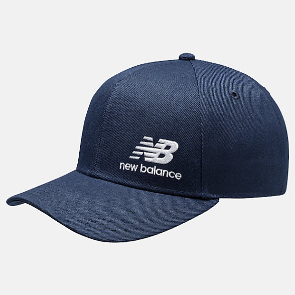 New Balance Team Stacked Snapback, MH934317PGM
