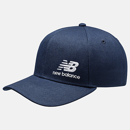 New Balance Team Stacked Snapback, MH934317PGM image number null
