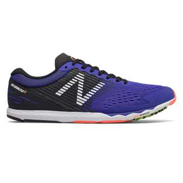 New Balance Hanzo S v2, UV Blue with Black & Dark Mango