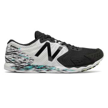New Balance Hanzo S, Black with White