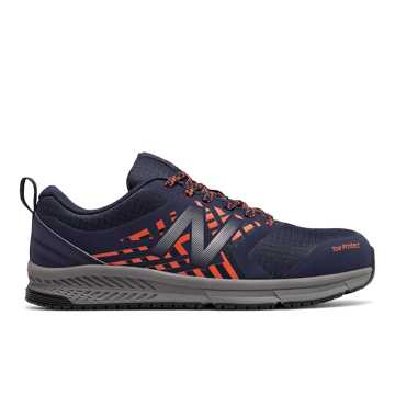 New Balance 412 ESD, Team Navy with Team Orange & Castlerock
