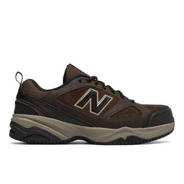New Balance Steel Toe 627v2, Brown with Black