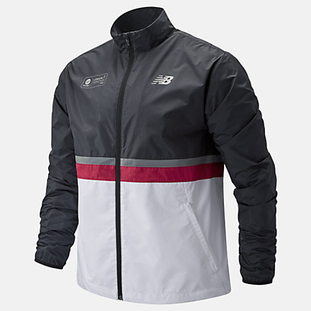 NB London Marathon Jacket, MJ01200DNCR image number null