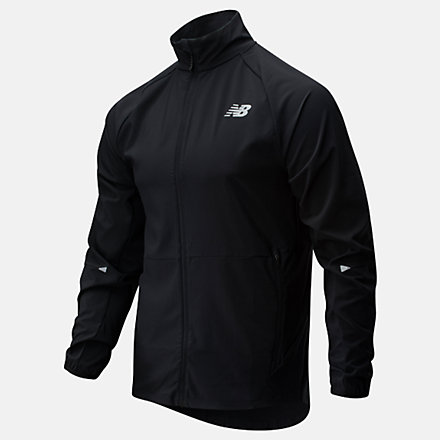 NB Impact Run Jacket, MJ01236BK image number null
