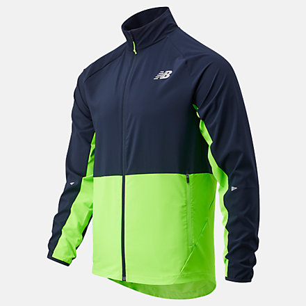 New Balance Impact Run Jacket, MJ01236EGL image number null