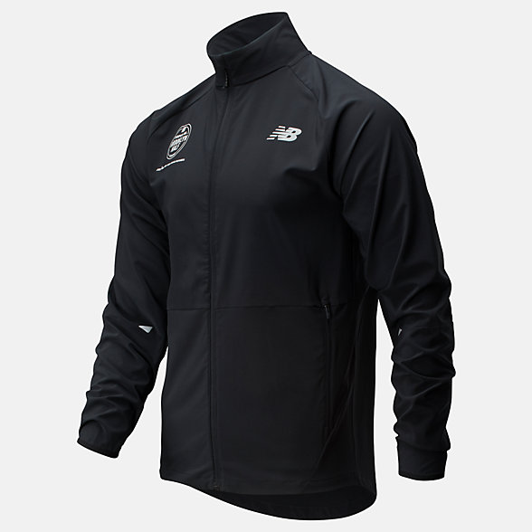 New Balance Popular Brooklyn Half Impact Run Jacket, MJ01236FBK