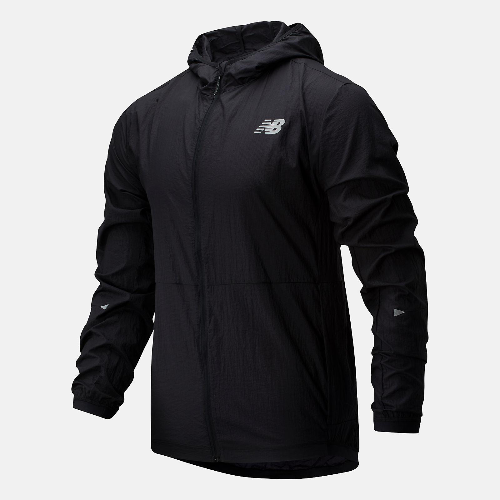 new balance packable jacket