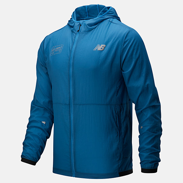NB London Edition Impact Run Light Pack Jacket , MJ01237DMAK
