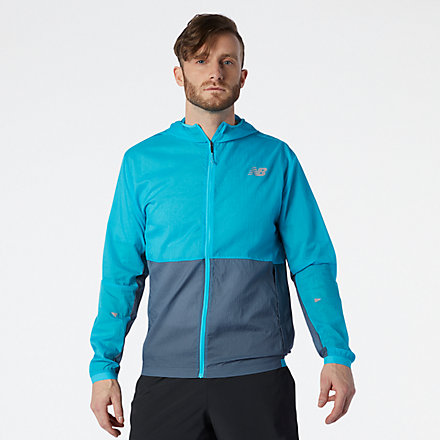 NB Impact Run Light Pack Jacket, MJ01237VLS image number null