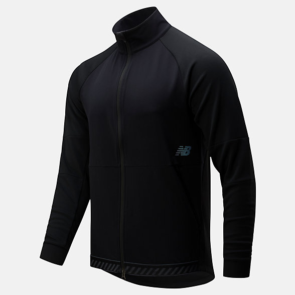 NB Q Speed Run Crew Jacket, MJ01262BK