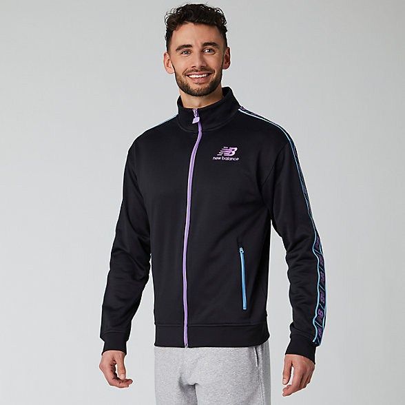 NB NB Athletics Tokyo Nights Track Jacket, MJ01506BM