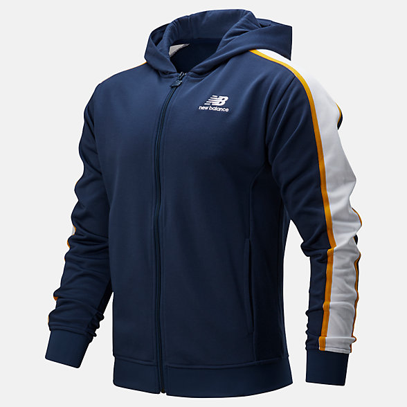 NB NB Athletics Track Hoodie, MJ01512NGO