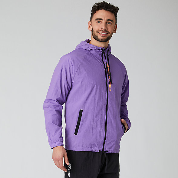 New Balance Sport Style Optiks Windbreaker, MJ01514NVI