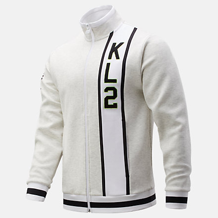New Balance Kawhi First Light Warmup Jacket, MJ01674SAH image number null