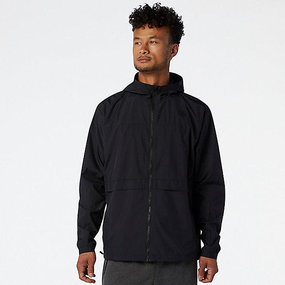 New Balance R.W.T. Lightweight Woven Jacket, MJ03044BK