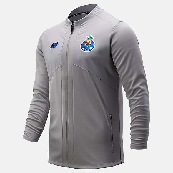 NB FC Porto Pre-Game Jacket, MJ031060GRM