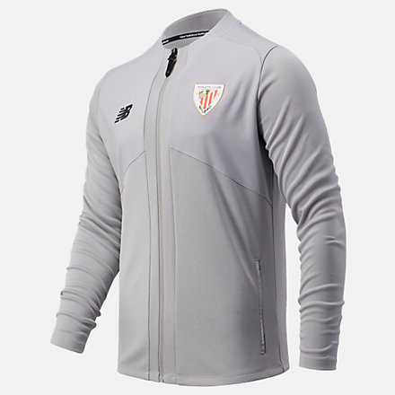 NB Athletic Club Pre-Game Jacket, MJ031110GRM image number null