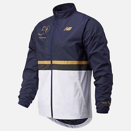 New Balance NYC Marathon Jacket, MJ03200MECL image number null