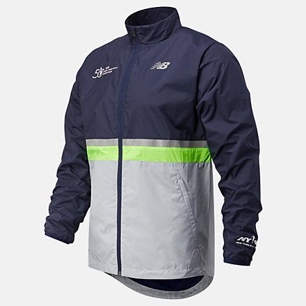 New Balance NYC Marathon Jacket, MJ03200MEM1 image number null