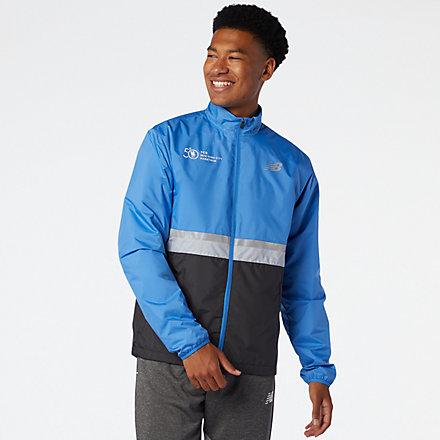 New Balance NYC Marathon Jacket, MJ03200MFCT image number null
