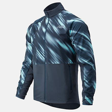 NB NB Silent Hunter Impact Run Jacket, MJ03206PE image number null