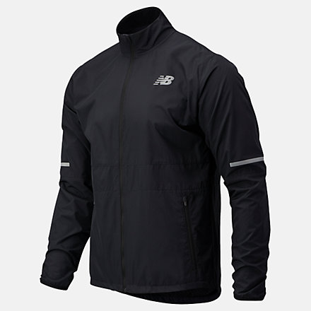 New Balance Accelerate Protect Jacket, MJ03207BK image number null