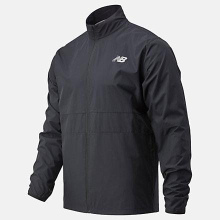 New Balance Core Run Jacket, MJ03210BK image number null