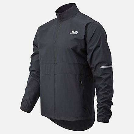 New Balance Accelerate Jacket, MJ03217BK image number null