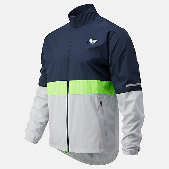 New Balance Accelerate Jacket, MJ03217EGL