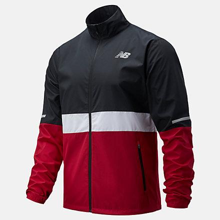 New Balance Accelerate Jacket, MJ03217HOR image number null
