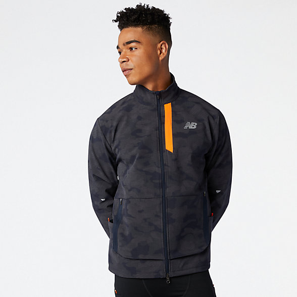 NB Reflective Impact Run Winter Jacket, MJ03253NRF