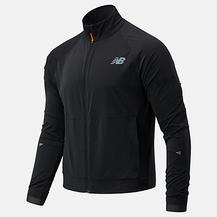New Balance Q Speed Fuel Jacket, MJ03264BK image number null