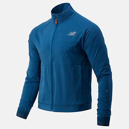 New Balance Q Speed Fuel Jacket, MJ03264RGV image number null