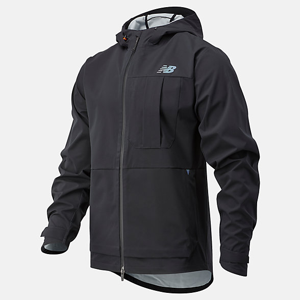 New Balance Q Speed Defy Jacket, MJ03267BK